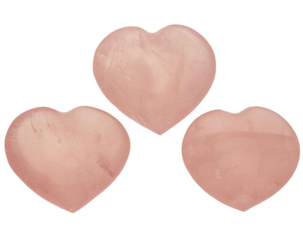 bergkristal harten pink